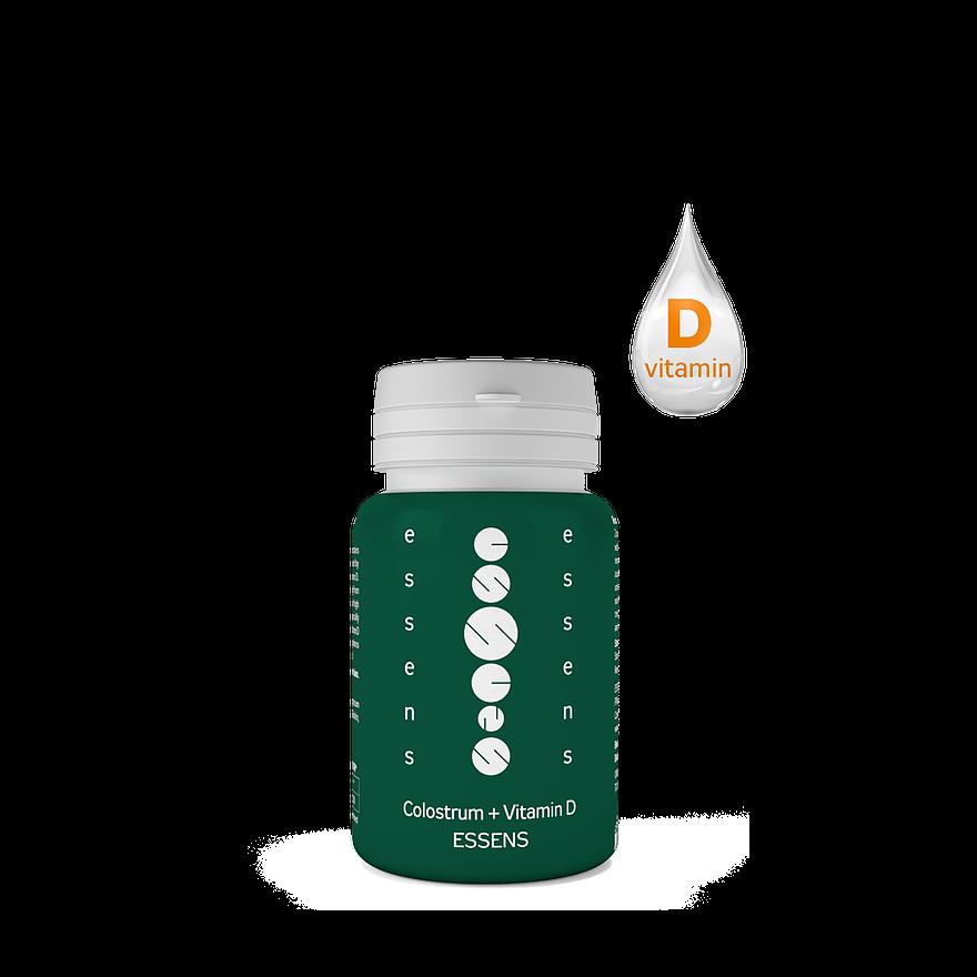 Colostrum Capsules + vitamin D