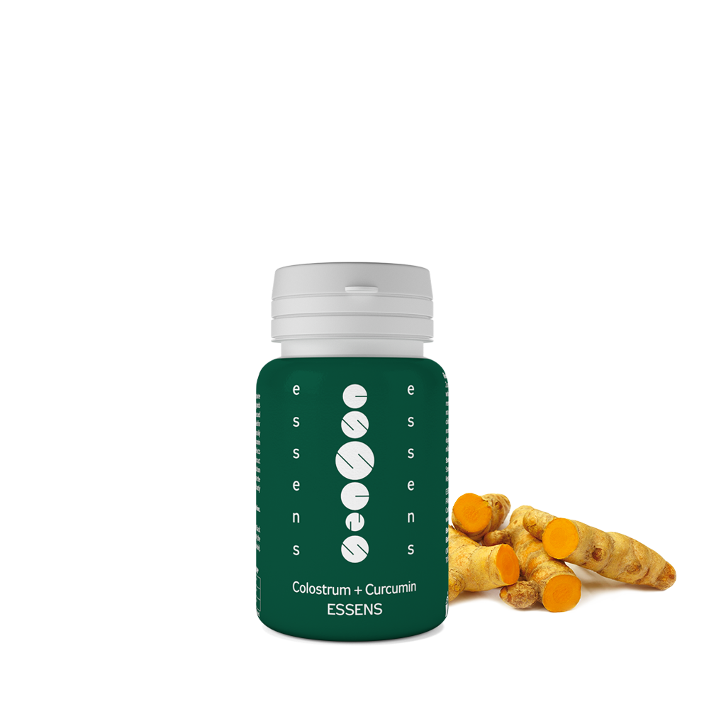 Colostrum Capsules + Curcumin