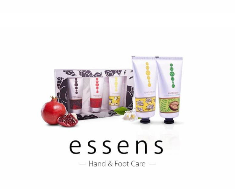 Hand and foot care from essens