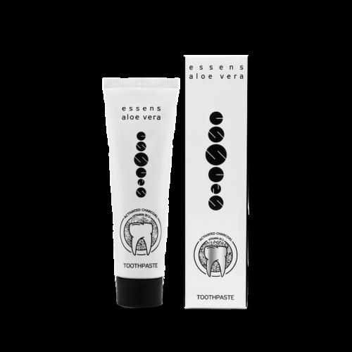 essens Aloe Vera Toothpaste Activated Charcoa Vitamin B12