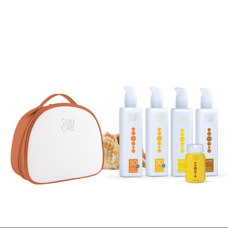 sun care set essens